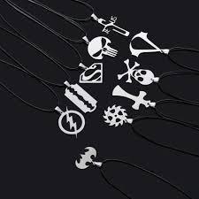 Women Men Antique Crystal <b>Wolf</b> Tooth Pendant Necklaces Vintage ...