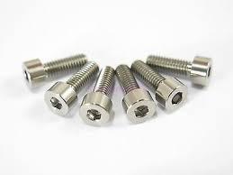 <b>M4</b> x <b>12mm Titanium Ti</b> Bolt Hex Socket Cap Head - Allen Key ...