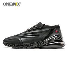 2019 <b>ONEMIX Men Running Shoes</b> 95 Leather Upper Air ...