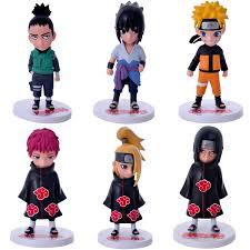 <b>Naruto</b> 6pcs <b>Anime</b> Toys <b>Naruto Sasuke</b> Hand <b>Cartoon</b> Model ...