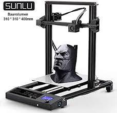 SUNLU 3D <b>Printer</b> 2019 Newest 95% Pre-Assembled 310x310x400 ...