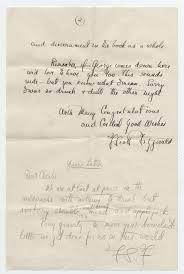 f scott fitzgerald his letter to a fellow author offers writing fitz2final f scott fitzgerald