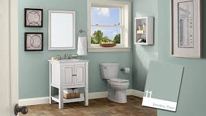 popular cool bathroom color: modest paint color schemes for bathrooms cool ideas for you