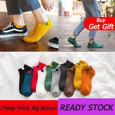 Men Socks <b>5Pairs</b>/<b>Lot</b> Men Cotton Invisible Slippers Male Shallow ...