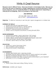 resume  how to build a good resume  corezume coimages for how to build a good resume