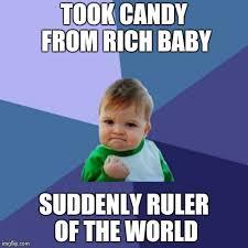 Success Kid Meme - Imgflip via Relatably.com