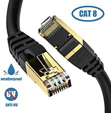 Cat8 Ethernet Cable, Outdoor&Indoor, 3FT Heavy ... - Amazon.com