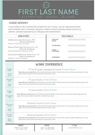 ideas about teaching resume on pinterest   teacher resumes    mint and gray cover letter and resume templates  make your cover letter and resume pop