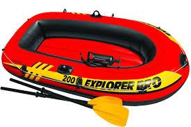 <b>Лодка надувная</b> двухместная <b>INTEX</b> Explorer Pro 200 58356 ...