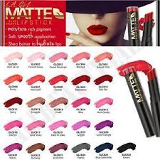 L.A. Girl <b>Matte Flat Velvet</b> Lipstick   Shopee Philippines