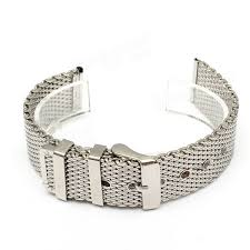 18mm <b>20mm 22mm Stainless Steel</b> Mesh Buckle Watch Band ...