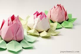 """Résultat de recherche d'images pour """"origami lotus"""""""