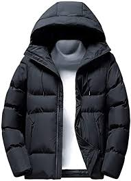 Willow S Men's <b>Winter Plus</b> Size Fluffy <b>Cotton</b> Coat <b>Casual</b> Hooded ...