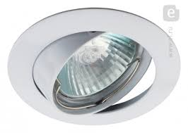 <b>Точечный светильник ЭРА</b> KL1A WH 50W GU5.3 MR16 ...