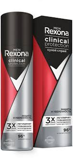 <b>Дезодорант Rexona men Clinical</b> Protection спрей 150мл Защита ...