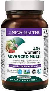 New Chapter <b>Women's</b> Multivitamin, <b>Women's</b> Advanced <b>40</b>+