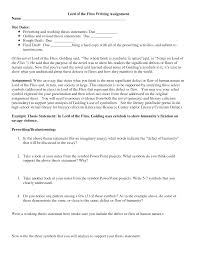 lord of the flies essays lord of the flies essay outline