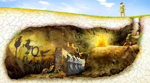 explain the allegory of the cave in the theory of dimension    allegory of the cave by plato
