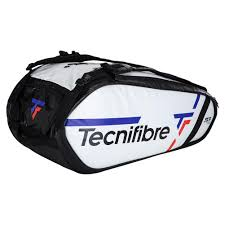 Tecnifibre Tour <b>Endurance</b> 15R Tennis Bag <b>White</b> | Tennis Express