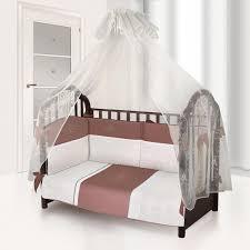 <b>Комплект в кроватку Esspero</b> Paletto Цвет: Brown - купить в Москве