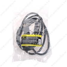 Кабель <b>HDMI</b> - <b>HDMI Ritmix RCC</b>-<b>151</b>, 1.8м, круглый, силикон ...