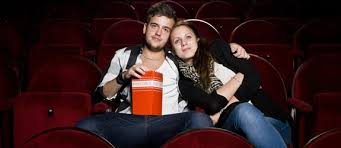 Image result for Lovers watching movie