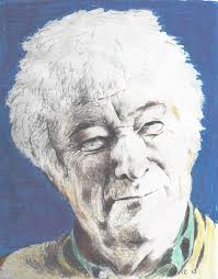 second thoughts in seamus heaney s north from antaeus to catherine edmunds 2013 sketch of seamus heaney painted by patrick j keane
