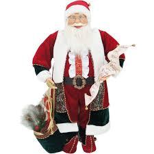 Santa Clause Red Velvet <b>Merry Christmas Gifts</b> Sack Bag Fur Trim ...