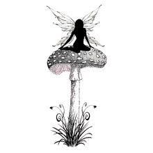 <b>clear fairy</b> stamp