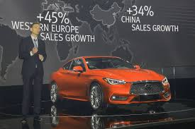 new car launches europeInfiniti launches Q60 coupe new 30 biturbo at Geneva by CAR