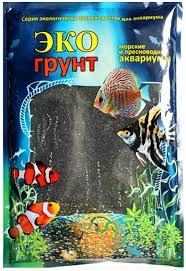 Купить <b>грунт</b> для аквариума <b>ЭКОгрунт</b> Черный кристалл г-0124 <b>3</b> ...