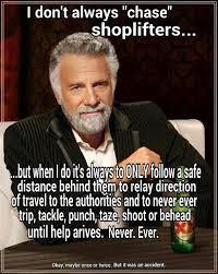 Loss Prevention on Pinterest   Retail Meme, Police Officer and ... via Relatably.com