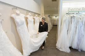 david s bridal doesn t want to be the walmart of weddings anymore i notify a s associate if i wanted to try something on hundreds of fingers on white dresses can surely cause damage one drawback to saying goodbye