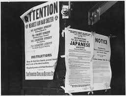 little known stories of ese americans who resisted on a brick wall beside air raid shelter poster exclusion orders were posted at first and front streets directing removal of persons of ese ancestry