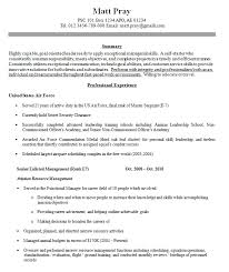 Sample Military Civilian Resume Police Ex Military Resume Examples Veteran Career Counseling Services