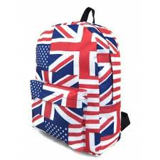 <b>Рюкзак</b> British Flag <b>Creative LLC</b>, цвет красный, артикул 40624 ...