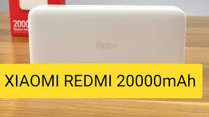 Обзор и тестирование <b>XIAOMI REDMI PowerBank</b> 20000mAh ...