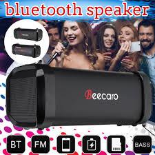 Beecaro <b>Portable Bluetooth</b> Speaker Super Bass Mini Column ...