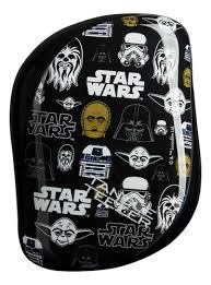 <b>Расческа для волос Compact</b> Styler Star Wars Multiprint Tangle ...