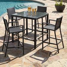 plastic patio table synthetic wicker