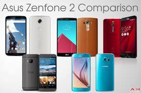 Comparison: Asus ZenFone 2 vs Nexus 6 vs HTC One M9 vs LG G4 ...