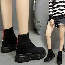 LMCAVASUN <b>Women's</b> Winter Sneakers <b>Women Sock Boots</b> ...