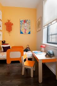 chelsea apartment inspiration for a contemporary kids room remodel in new york biege study twin kids study room