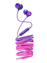 <b>Наушники</b>-вкладыши с микрофоном <b>SHE2405PP</b>/00 <b>Philips</b> ...