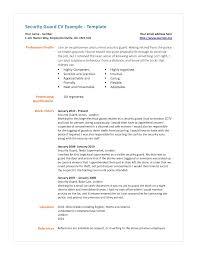 security guard resume sample eager world security guard resume sample simple and professional security guard cv example