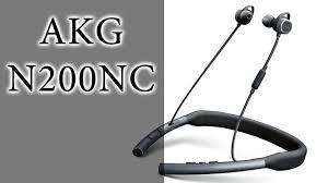 ОБЗОР   <b>Беспроводные наушники AKG</b> N200NC - YouTube