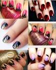 Рисунки на ногтях просто