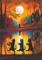 <b>Black Cat</b> Wall Art Australia