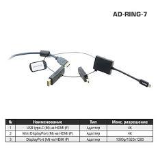 Комплект переходников Kramer AD-<b>RING</b>-<b>7</b>, купить оптом в ...