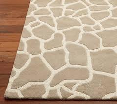 animal print rug pottery barn kids chic zebra print rug
